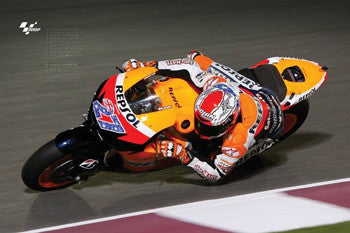 "Casey Stoner MotoGP ""Deep Lean"" - Pyramid (UK) 2011"