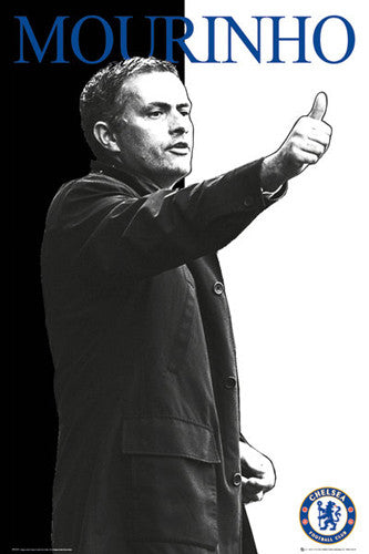 "Chelsea Coach Jose Mourinho ""Thumb's Up"" Poster - GB Eye (UK)"