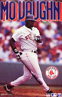 "Mo Vaughn ""Slugger"" Boston Red Sox MLB Action Poster - Starline 1994"