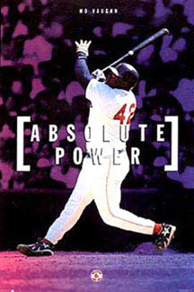 "Mo Vaughn ""Absolute Power"" Boston Red Sox MLB Action Poster - Costacos 1997"