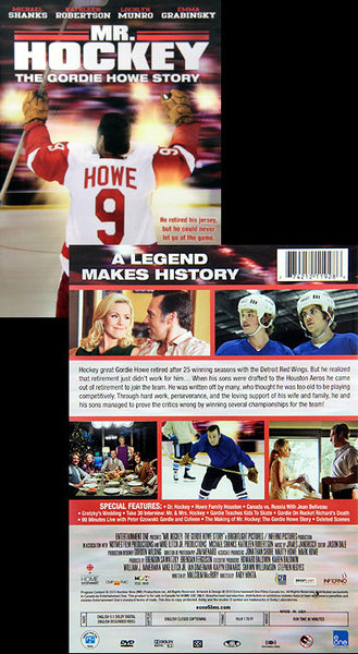 DVD: Mr. Hockey, The Gordie Howe Story (2013) - Entertainment One