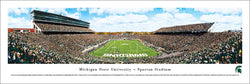 "Michigan State Spartans ""Bunyan Gameday"" Spartan Stadium Panoramic Poster Print (2011) - Blakeway Worldwide"