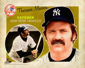 "Thurman Munson ""Retro SuperCard"" NY Yankees Poster - Photofile 16x20"