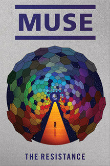 "Muse ""The Resistance"" Album Cover Art Music Poster - Funky 2010"