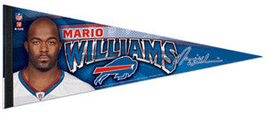 "Mario Williams ""Buffalo Superstar"" Premium Felt Collector's Pennant - Wincraft"