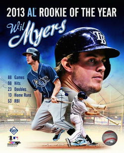 Wil Myers 2013 A.L. Rookie of the Year Commemorative Premium Poster - Photofile 16x20