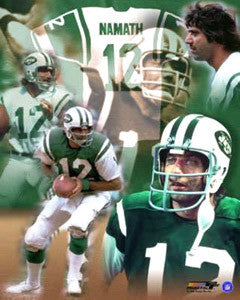 "Joe Namath ""#12 Forever"" New York Jets Classic Poster Print - Photofile"
