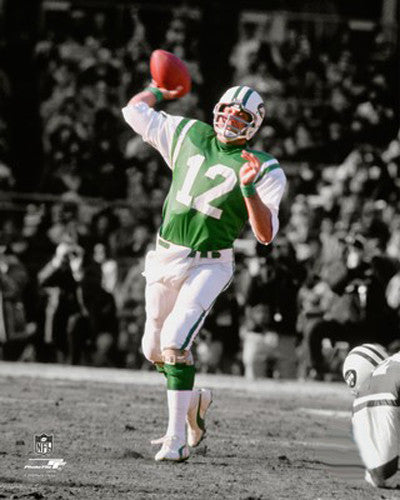 "Joe Namath ""Spotlight"" New York Jets NFL Football Classic Premium Poster Print - Photofile Inc."