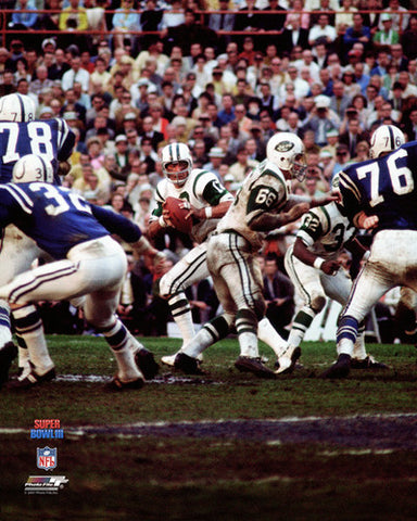 Joe Namath SUPER BOWL III (1969) New York Jets Poster Print - Photofile Inc.