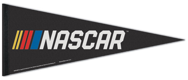 NASCAR Stock Car Racing Official Logo Premium Felt Collector's Pennant - Wincraft