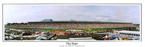 'The Start' (Lowe's Motor Speedway) - Everlasting Images