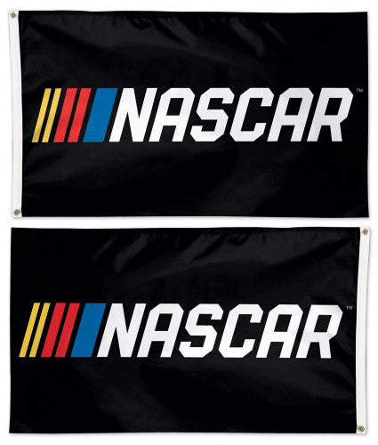 Official NASCAR Logo (2017) Huge 3' x 5' 2-Sided DELUXE Banner Flag - Wincraft Inc