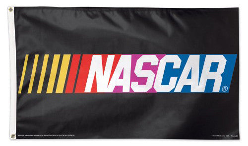 Official NASCAR Logo Huge 3' x 5' DELUXE Banner Flag - Wincraft Inc.