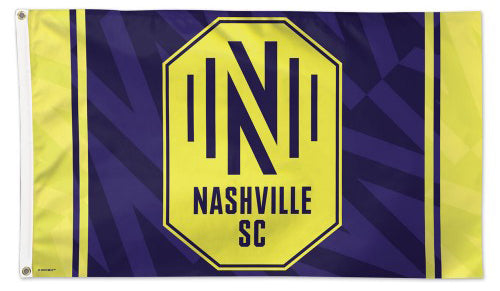 Nashville SC Official MLS Soccer Team Deluxe-Edition Premium 3'x5' Flag - Wincraft Inc.
