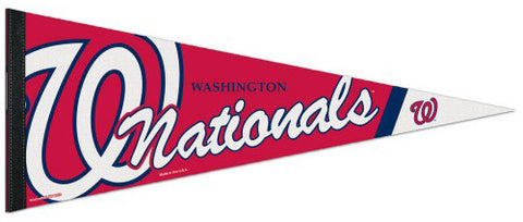 Washington Nationals Official MLB Baseball Premium Felt Collector's Pennant - Wincraft