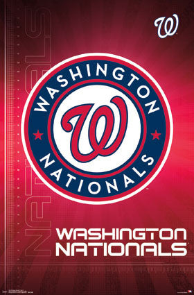 Washington Nationals Official MLB Baseball Team Logo Poster - Trends International