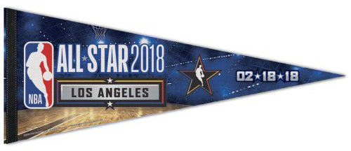 NBA All-Star Game 2018 LOS ANGELES Premium Felt Collector's Pennant - Wincraft Inc.