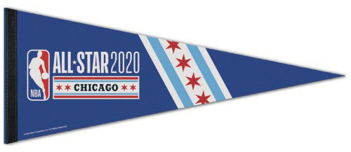 NBA All-Star Game 2020 Chicago Premium Felt Collector's Pennant - Wincraft Inc.