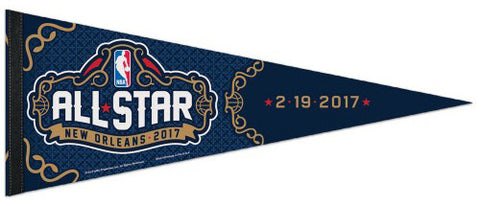 NBA All-Star Game 2017 NEW ORLEANS Premium Felt Collector's Pennant - Wincraft