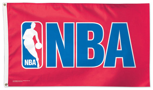 Official NBA BASKETBALL Association Logo DELUXE 3' x 5' Flag - Wincraft Inc.
