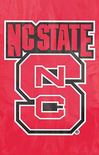 NC State Wolfpack Official NCAA Premium Applique Team Banner Flag - Party Animal