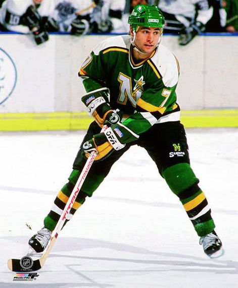 Neal Broten Minnesota North Stars Classic c.1983 Premium Poster Print - Photofile Inc.