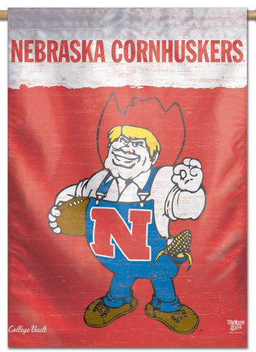Nebraska Cornhuskers Football College Vault 1970s-Style Official NCAA Premium 28x40 Wall Banner - Wincraft Inc.