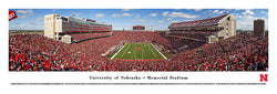 "Nebraska Cornhuskers Football ""Sea of Red"" (2013) Memorial Stadium Panoramic Poster"
