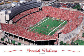 "Memorial Stadium ""Here Come the Huskers"" - Rick Anderson"