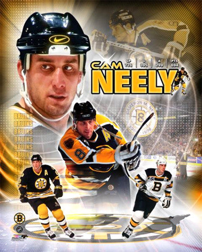 "Cam Neely ""Legend"" Boston Bruins Premium Commemorative Poster Print - Photofile Inc."