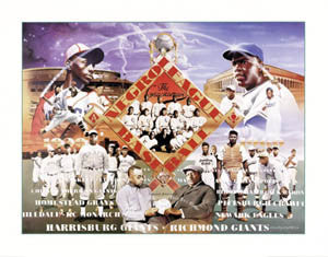 Negro League Baseball by Clay Wright - Paloma 1998