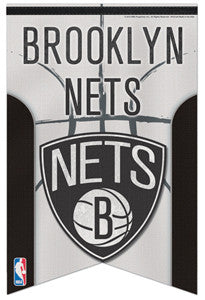 Brooklyn Nets Official NBA Basketball Premium Felt Banner - Wincraft Inc.