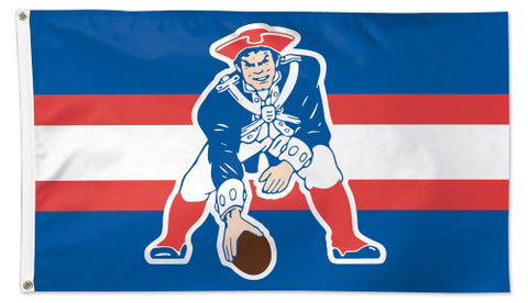 New England Patriots Vintage 1960s-Style Boston Patriots AFL Football 3'x5' Flag - Wincraft