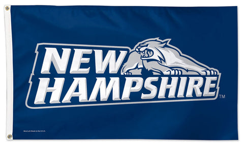 University of New Hampshire WILDCATS Official NCAA Deluxe-Edition 3'x5' Flag - Wincraft Inc.