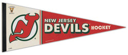 New Jersey Devils NHL Vintage Hockey 1980s-Style Premium Felt Collector's Pennant - Wincraft