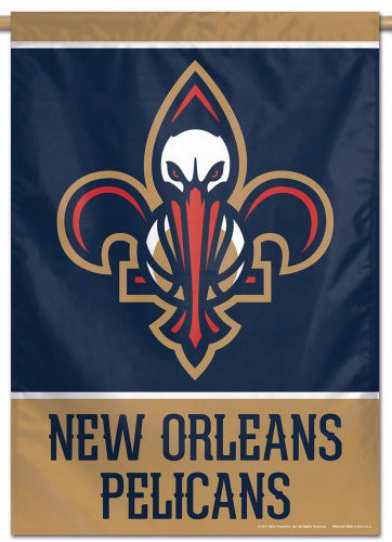 New Orleans Pelicans Official NBA Basketball Premium 28x40 Team Logo Wall Banner - Wincraft Inc.