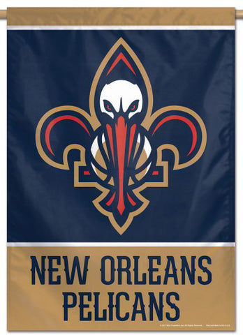 New Orleans Pelicans Official Nba Basketball Premium 28x40 Team Logo Wall Banner Wincraft Inc