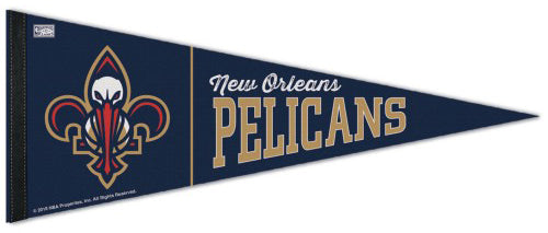 New Orleans Pelicans NBA Hardwood Classics Style Premium Felt Collector's Pennant - Wincraft Inc.