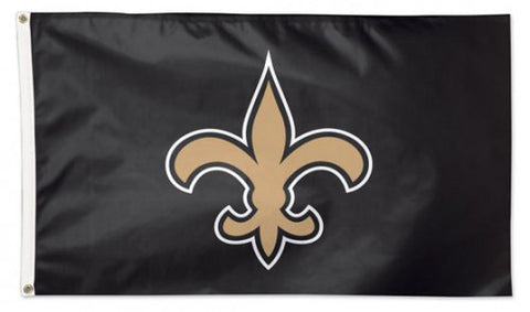 New Orleans Saints Official NFL Football 3'x5' Deluxe-Edition Flag - Wincraft Inc.