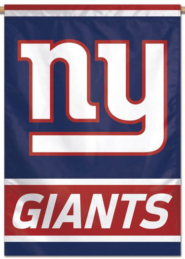 New York Giants Official NFL Football Team Logo-Style 28x40 Wall BANNER - Wincraft Inc.