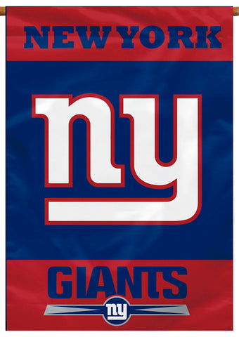 New York Giants Official NFL Football Team Premium 28x40 Banner Flag - BSI Products
