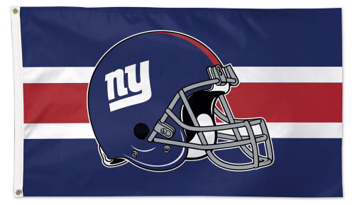 New York Giants Official NFL Football 3'x5' Deluxe-Edition Team Flag - Wincraft Inc.