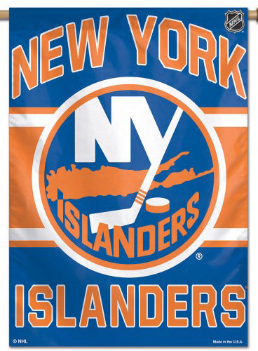 New York Islanders Official NHL Hockey Team Premium 28x40 Wall Banner - Wincraft Inc.
