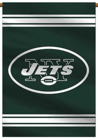 New York Jets Official NFL Football Team Premium Banner Flag - BSI Products