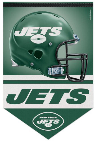 New York Jets Official NFL Football Premium Felt Banner - Wincraft Inc.