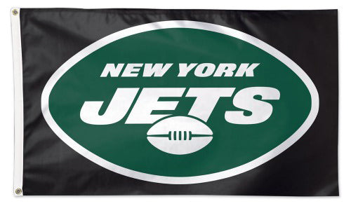 New York Jets Official NFL Football Deluxe-Edition 3'x5' Team Flag - Wincraft Inc.