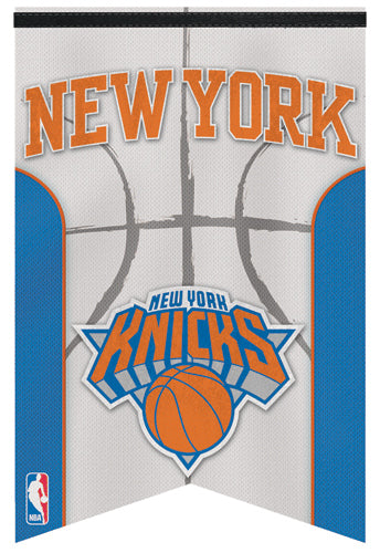 New York Knicks Official NBA Basketball Premium Felt Banner - Wincraft Inc.