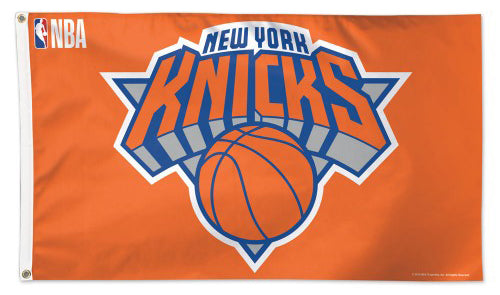 New York Knicks Official NBA Basketball Deluxe-Edition 3'x5' Flag - Wincraft Inc.