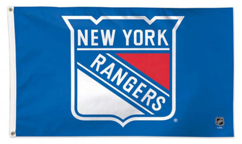 New York Rangers Official NHL Hockey Deluxe-Edition 3'x5' Flag - Wincraft Inc.