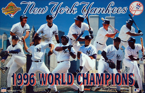 New York Yankees 1996 World Series Champions Commemorative Poster - Starline Inc.